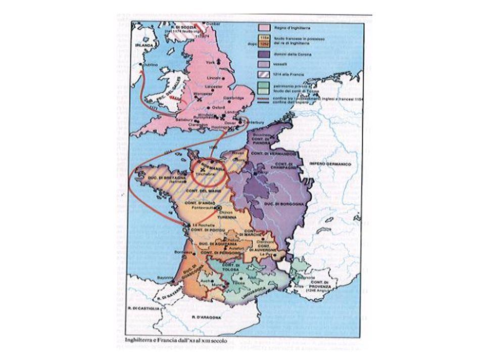 La Francia tra XI e XIII secolo/ cronologia essenziale 987: incoronazione di Ugo Capeto 1108-37: Luigi VI sottomette alla corona i vassalli ribelli.