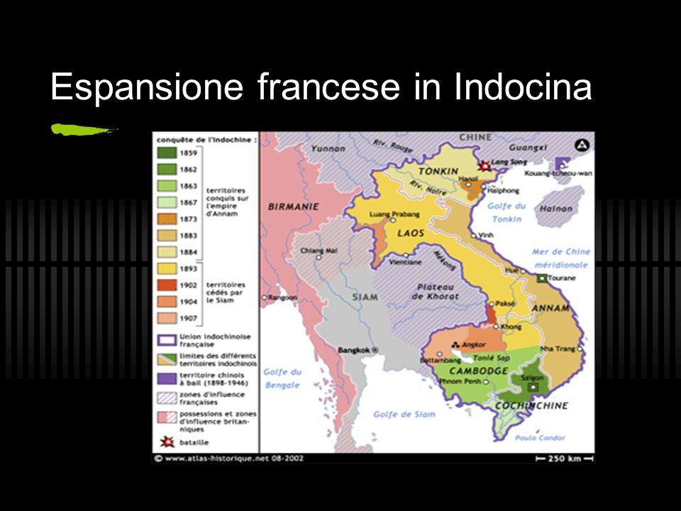 Espansione francese in Indocina