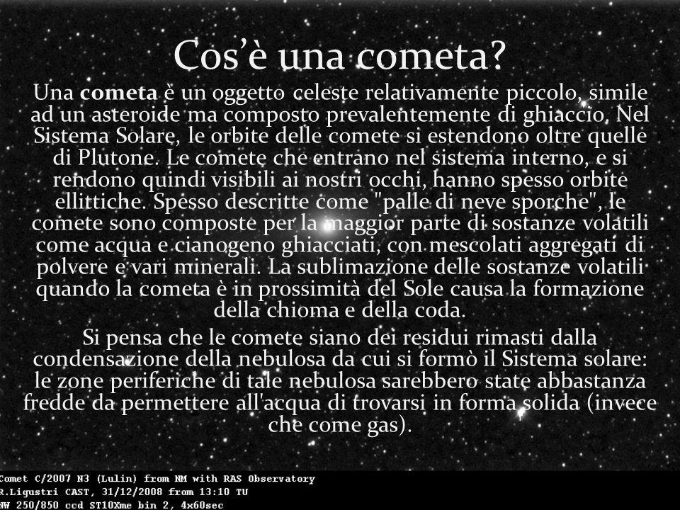 Cosè una cometa.