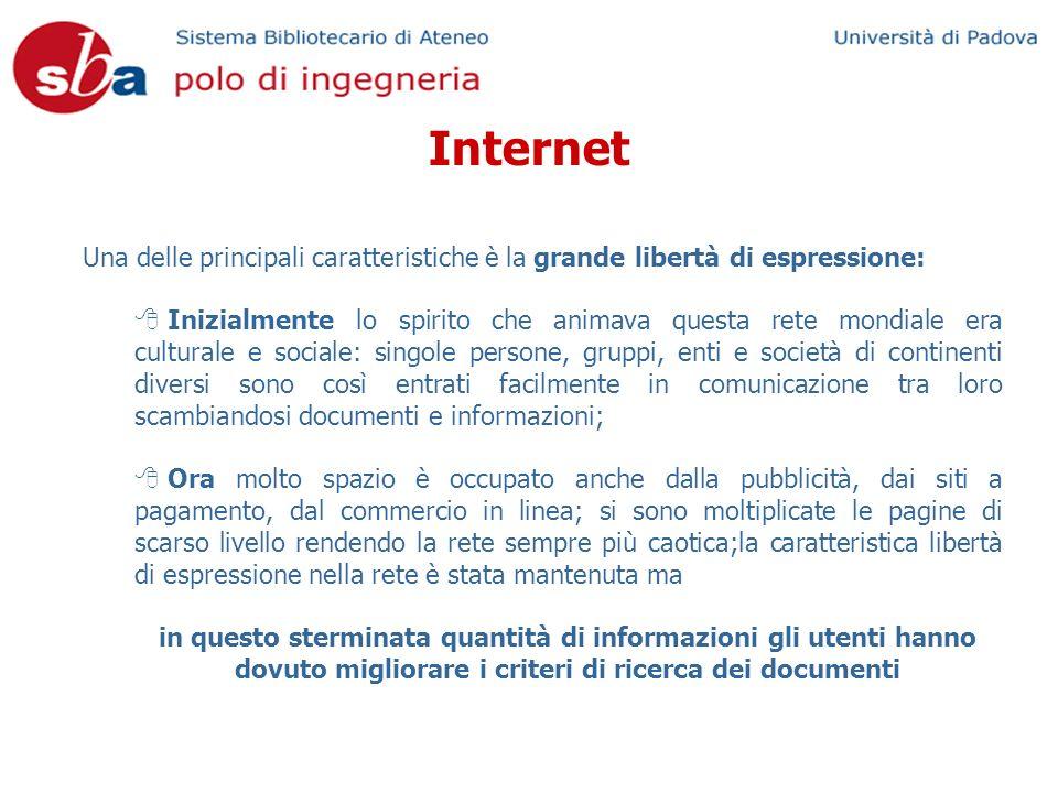 Una delle principali caratteristiche è la grande libertà di espressione: Inizialmente lo spirito che animava questa rete mondiale era culturale e soci