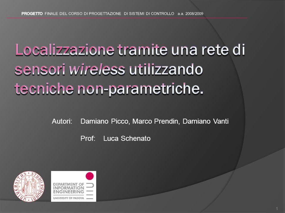 1 Autori:Damiano Picco, Marco Prendin, Damiano Vanti Prof: Luca Schenato