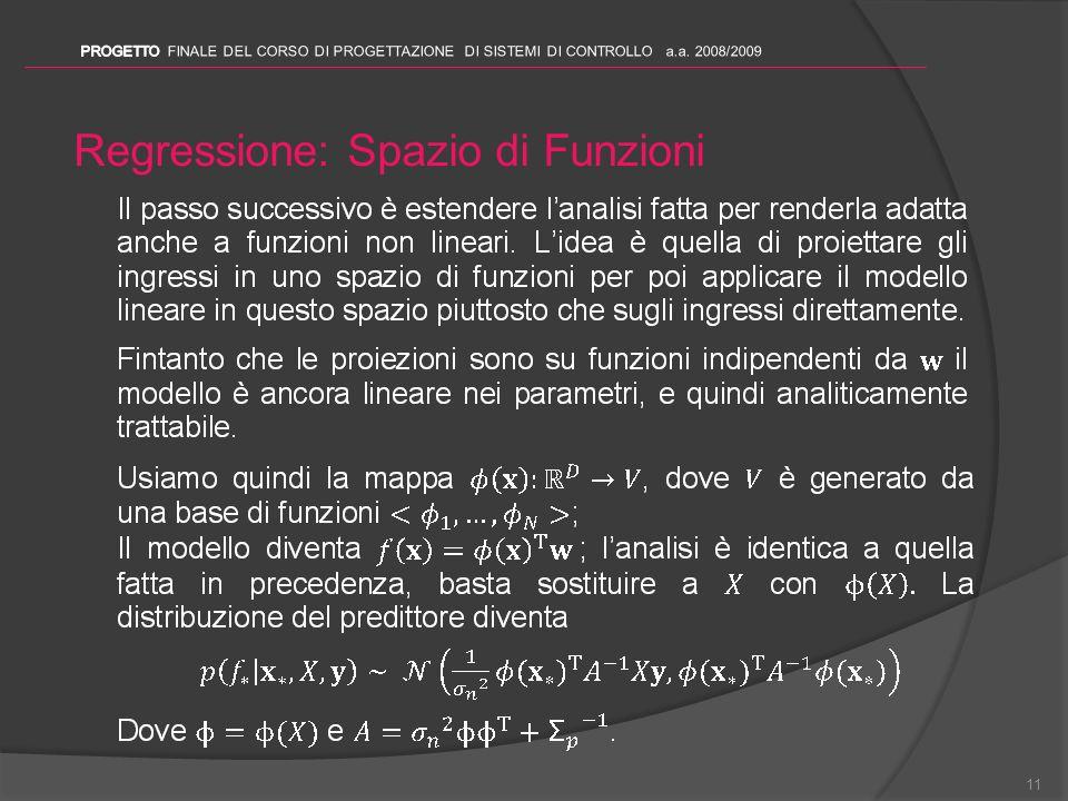 Regressione: Spazio di Funzioni 11