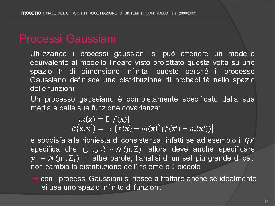 Processi Gaussiani 13