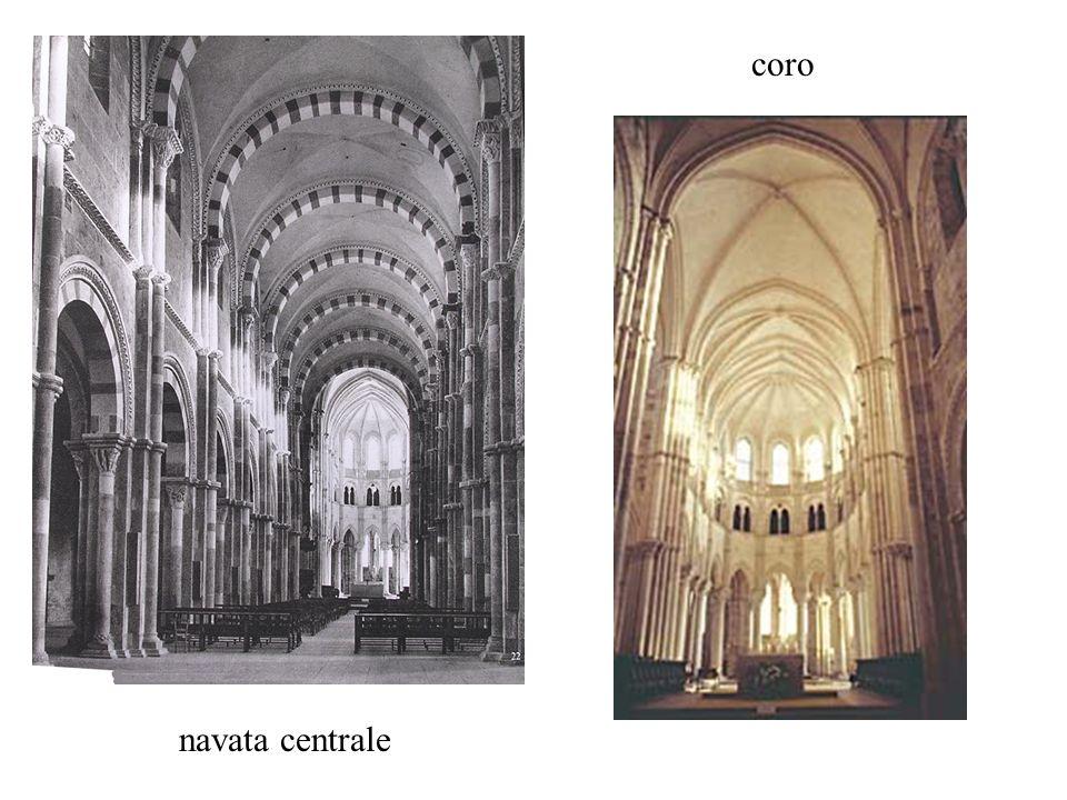 navata centrale coro