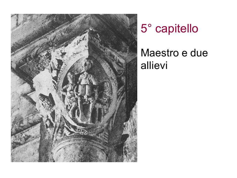 5° capitello Maestro e due allievi