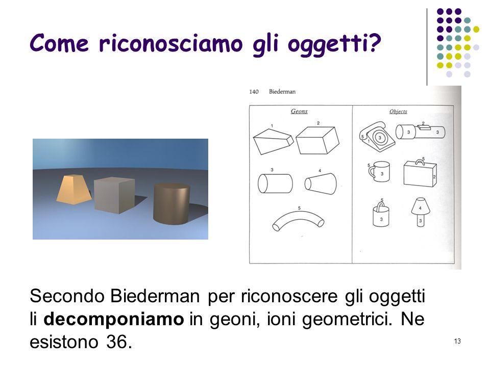 12 Come le qualità degli oggetti reali influenzano la percezione? Le affordances ci aiutano a interagire meglio con gli oggetti.