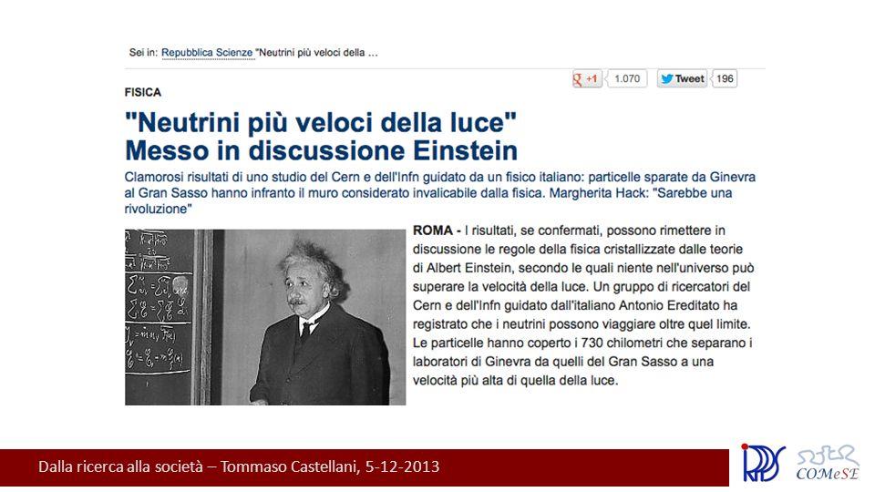 Dalla ricerca alla società – Tommaso Castellani, 5-12-2013