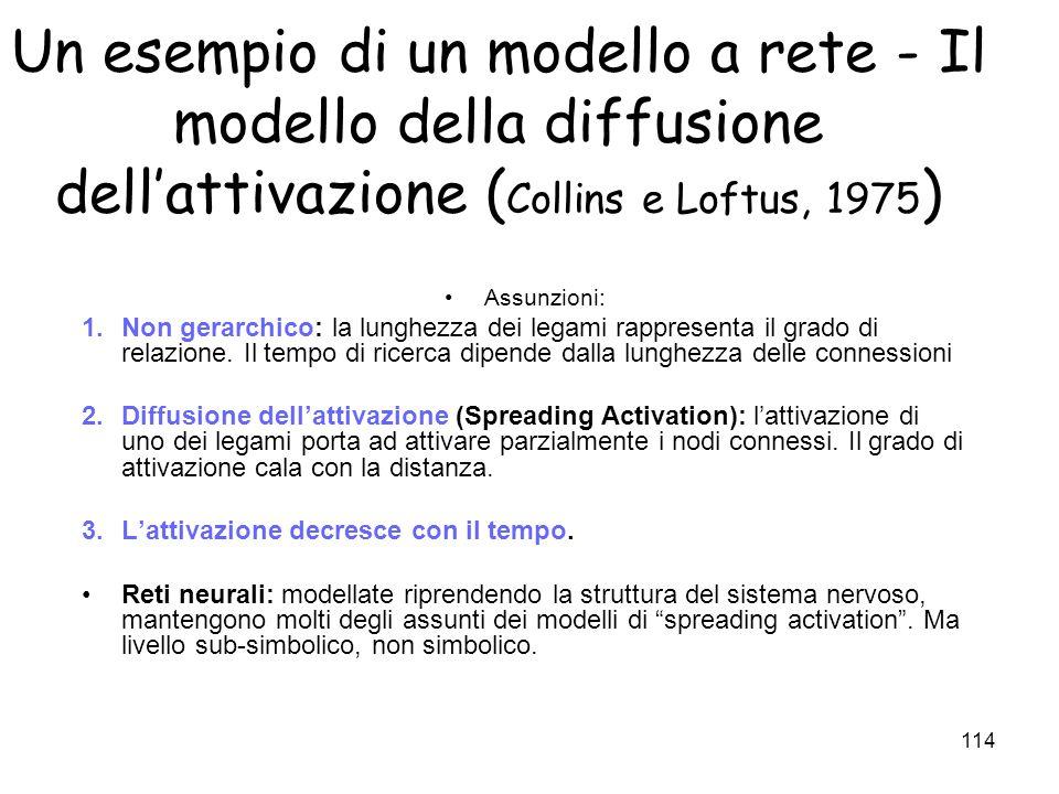 113 Memoria episodica e semantica: due sistemi distinti? Visione tradizionale (ma ancora dominante). Sistemi separati nella MLT. Tulving (72): memoria