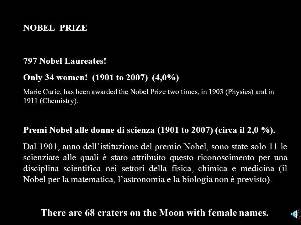 NOBEL PRIZE (al 2010) 840 Nobel Laureates! 813 individuals and 23 organizations have been awarded the Nobel Prize. Some Laureates and organizations ha
