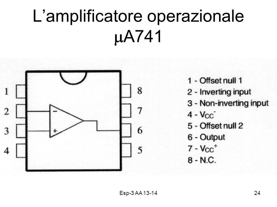 Esp-3 AA 13-1424 Lamplificatore operazionale A741