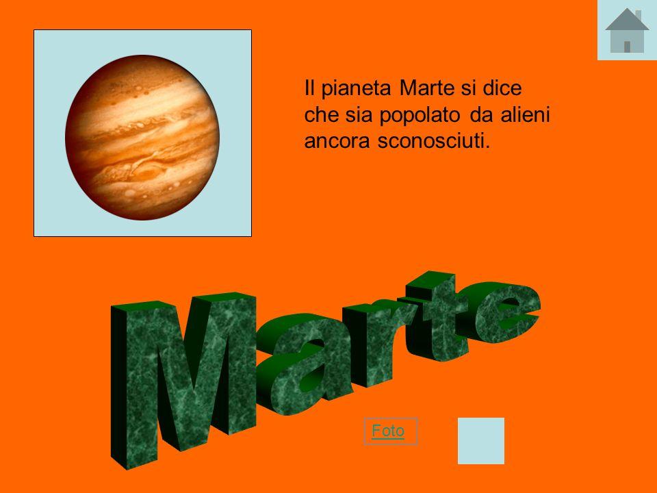 Il pianeta Marte si dice che sia popolato da alieni ancora sconosciuti. Foto