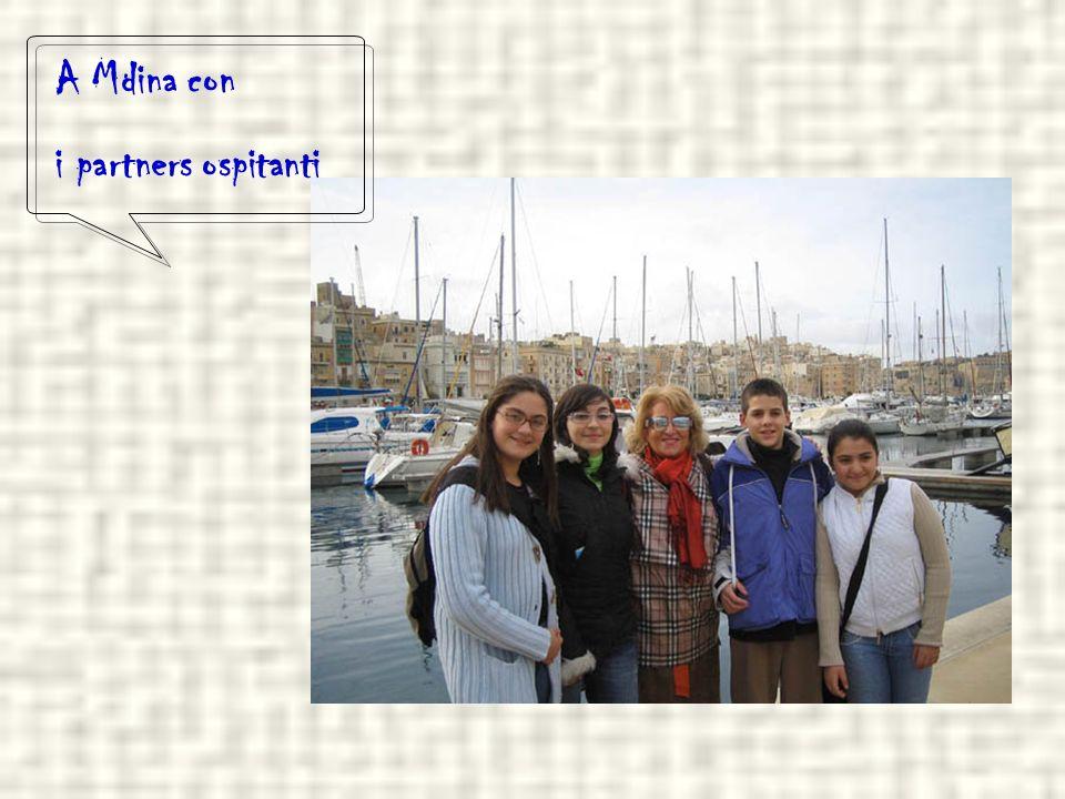 In visita alla Valletta Valentina, Nicolas,