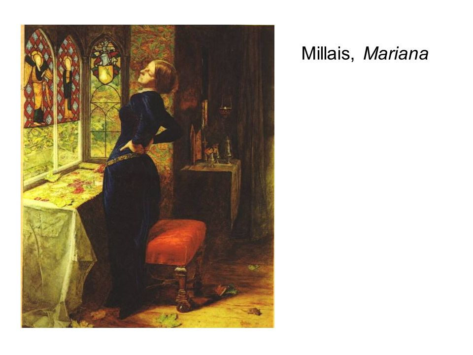 Millais, Mariana