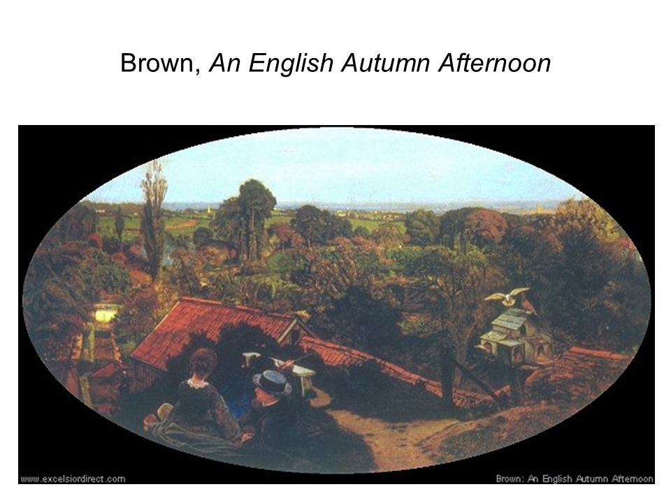 Brown, An English Autumn Afternoon