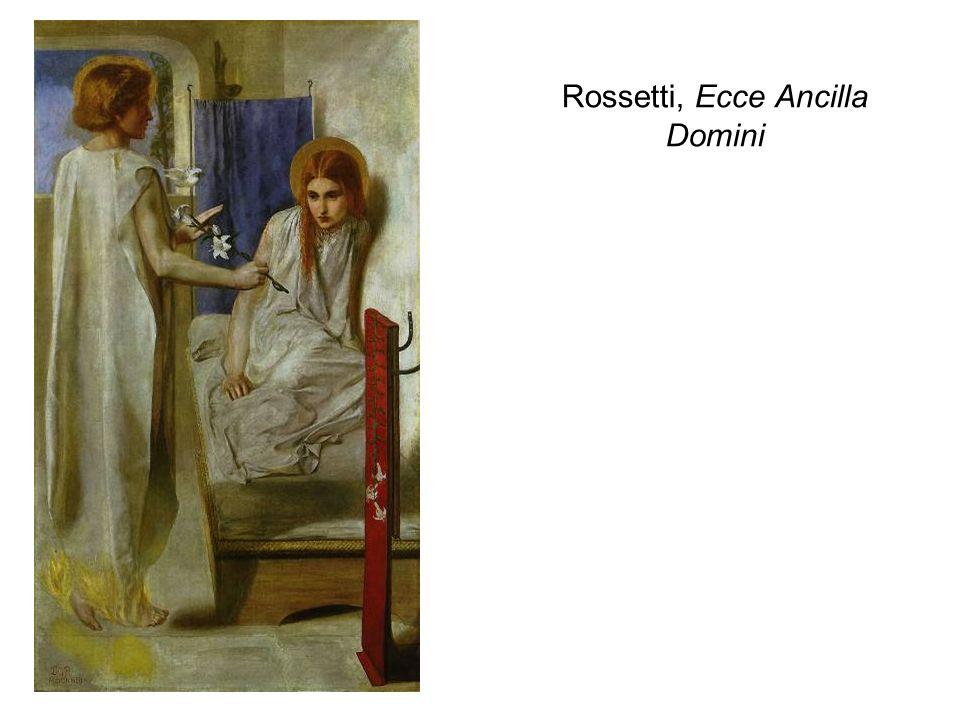 Rossetti, Ecce Ancilla Domini