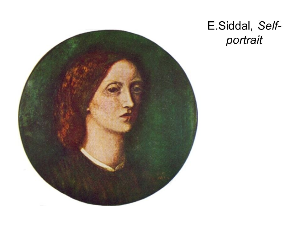E.Siddal, Self- portrait