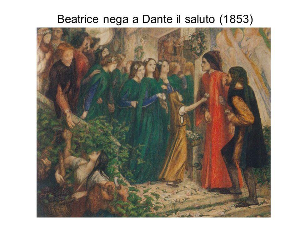 Beatrice nega a Dante il saluto (1853)