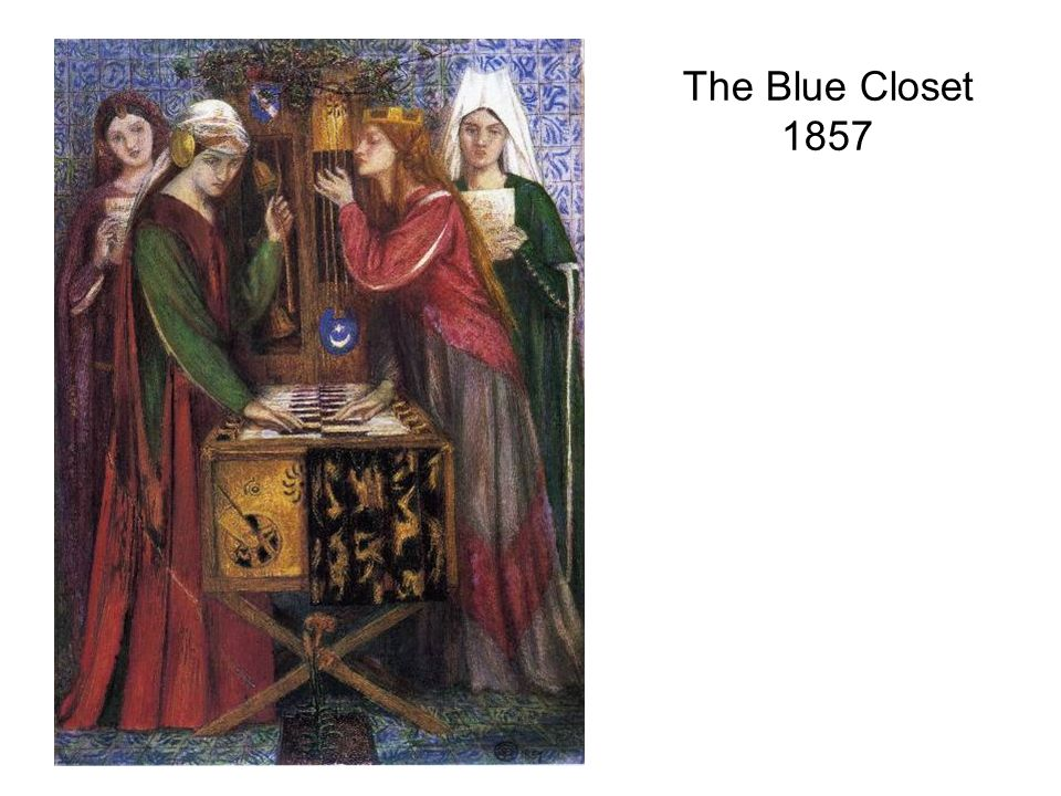 The Blue Closet 1857