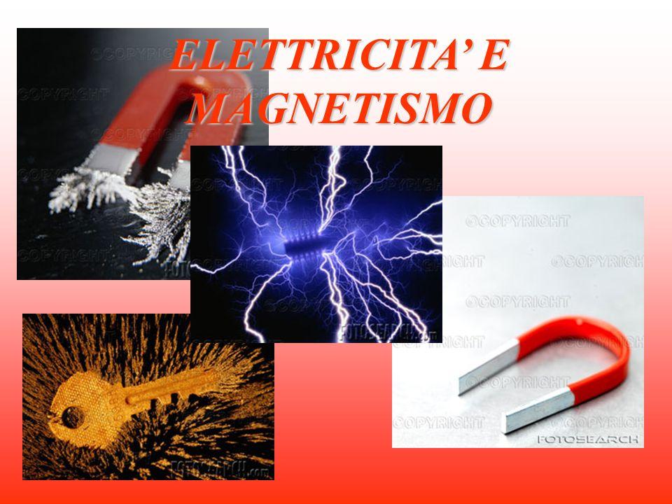 ELETTRICITA E MAGNETISMO