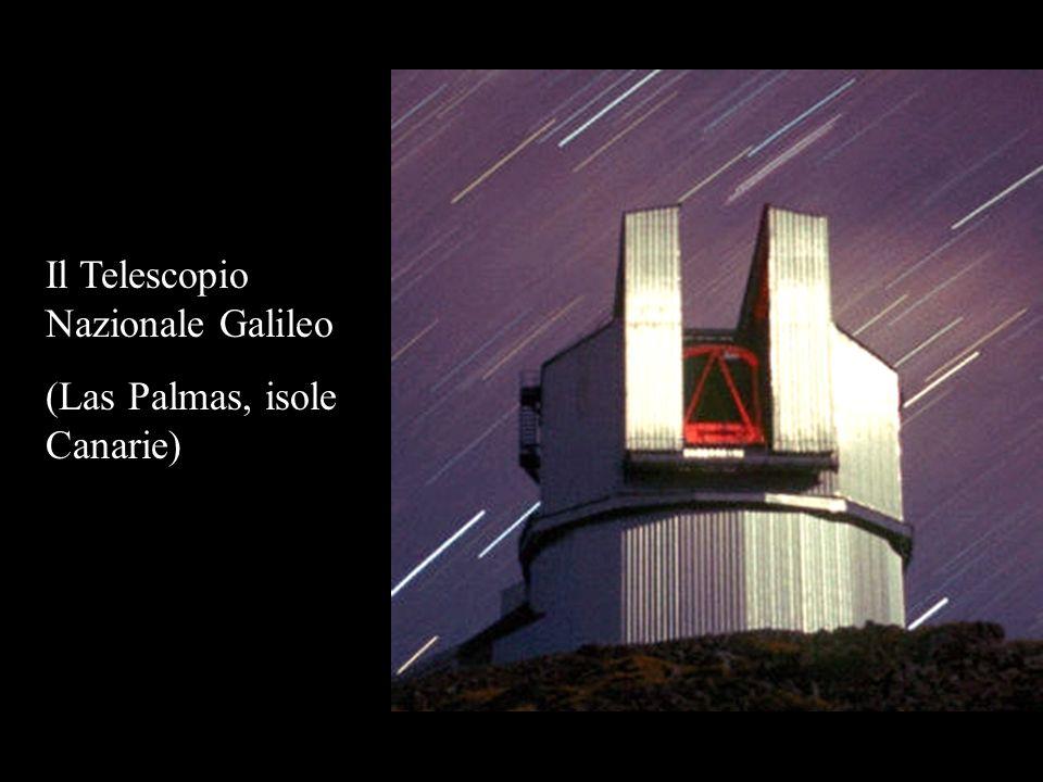Il Telescopio Nazionale Galileo (Las Palmas, isole Canarie)