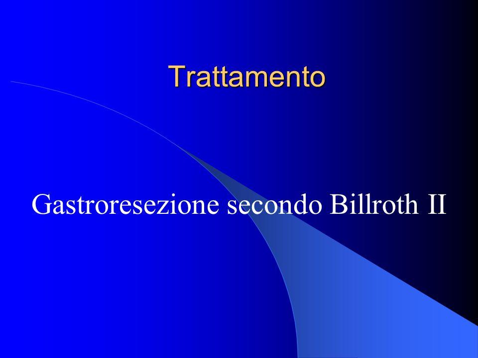 Trattamento Gastroresezione secondo Billroth II