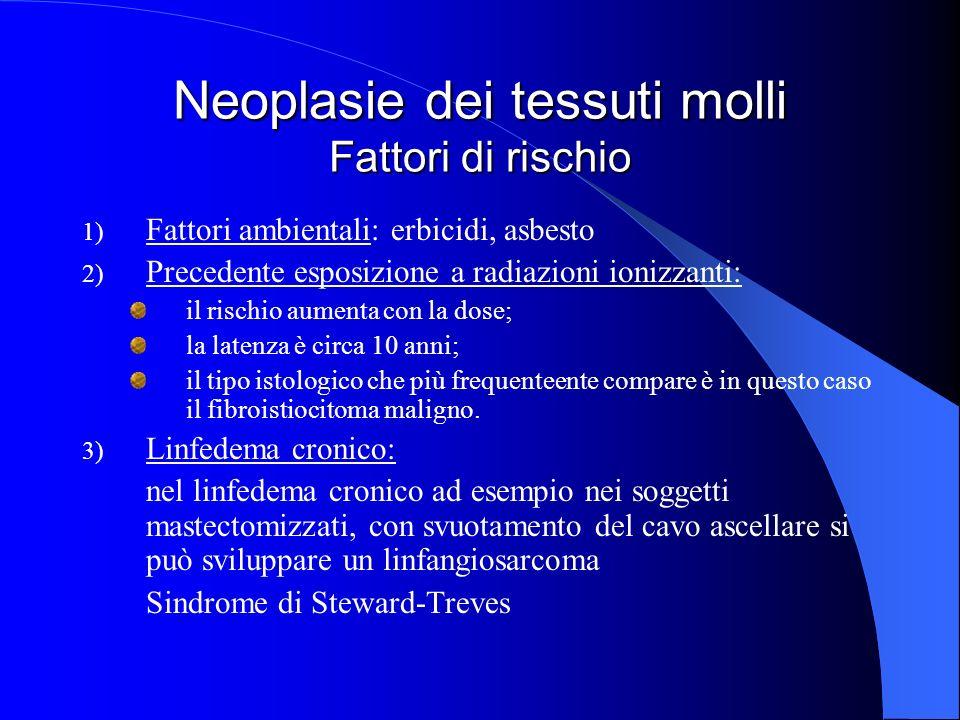 Istologia Al congelatore: neoplasia intramurale ben delimitabile sia nei confronti della parete muscolare che della mucosa, non ben valutabile sul piano citonucleare.