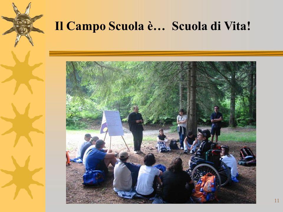 11 Il Campo Scuola è… Scuola di Vita!
