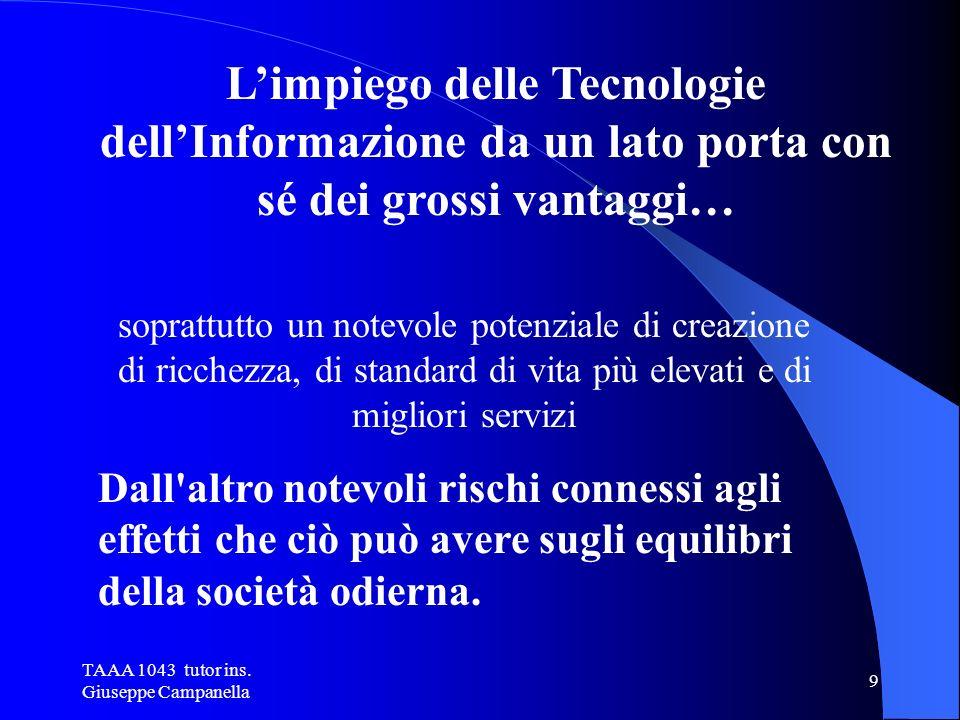 TAAA 1043 tutor ins. Giuseppe Campanella 19 PARTE INTERNA AL CASE LA SCHEDA MADRE