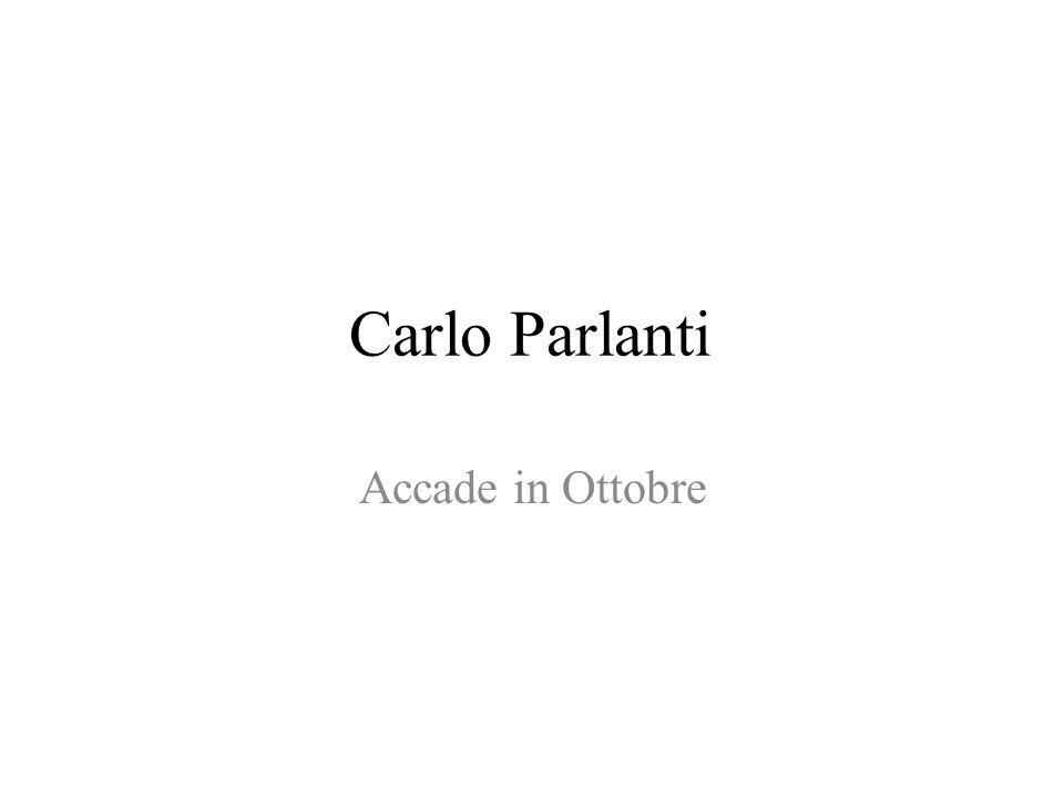 Carlo Parlanti Accade in Ottobre