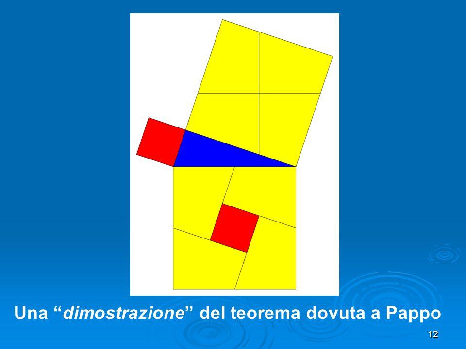 12 Una dimostrazione del teorema dovuta a Pappo
