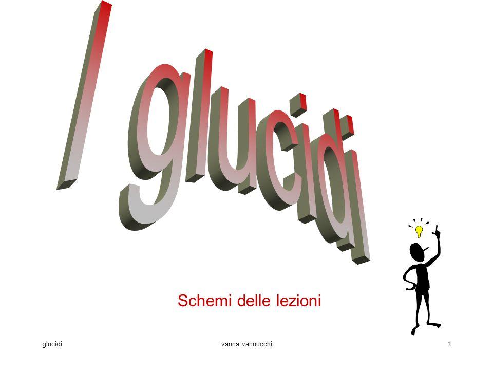 glucidivanna vannucchi1 Schemi delle lezioni