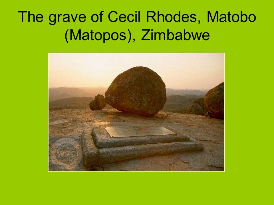 The grave of Cecil Rhodes, Matobo (Matopos), Zimbabwe