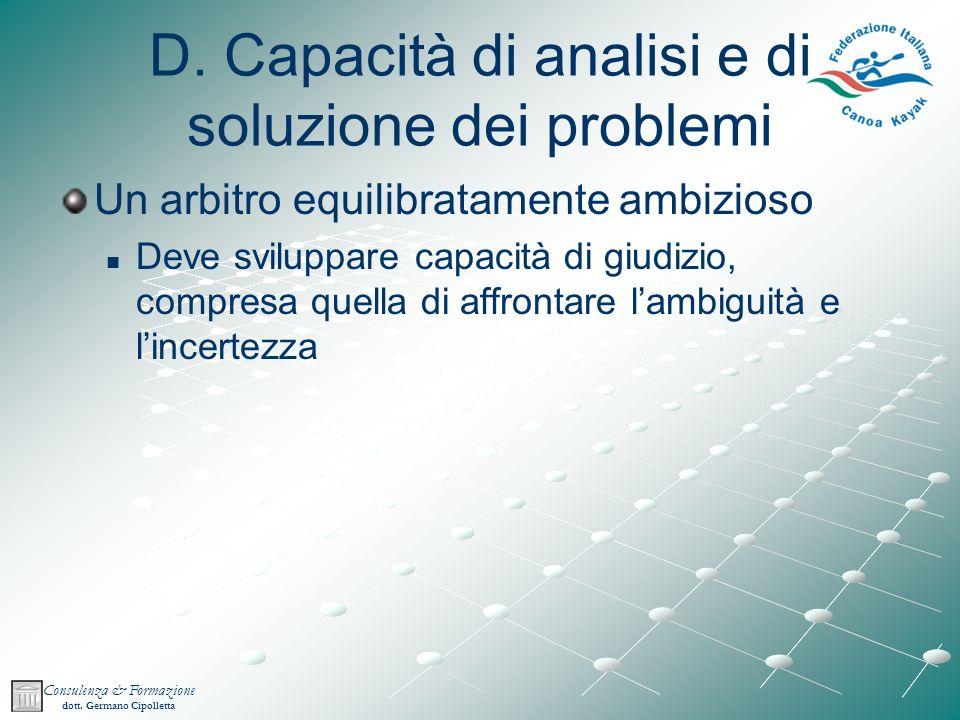Consulenza & Formazione dott.Germano Cipolletta D.