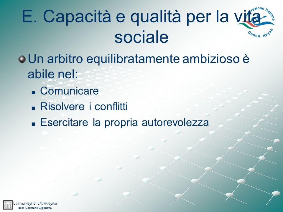 Consulenza & Formazione dott.Germano Cipolletta E.