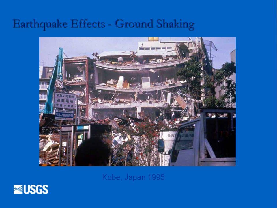 Earthquake Effects - Ground Shaking Kobe, Japan 1995