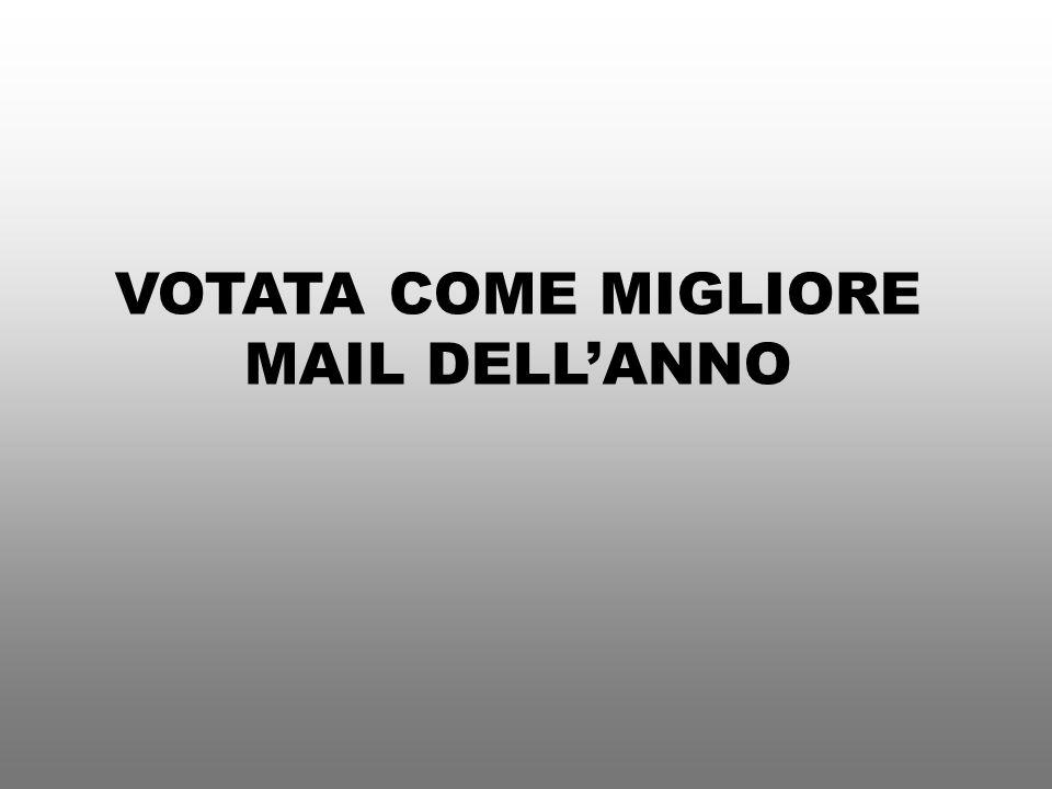 VOTATA COME MIGLIORE MAIL DELLANNO