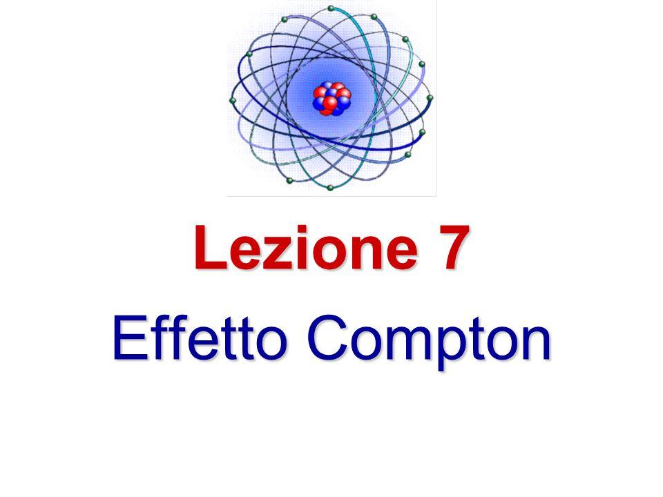 Francesco Adduci Fisica Atomica e Molecolare 2 Testo di riferimento Eisberg & Resnick Quantum Physics of Atoms, Molecules, Solids, Nuclei, ad Particles CD lezione 7