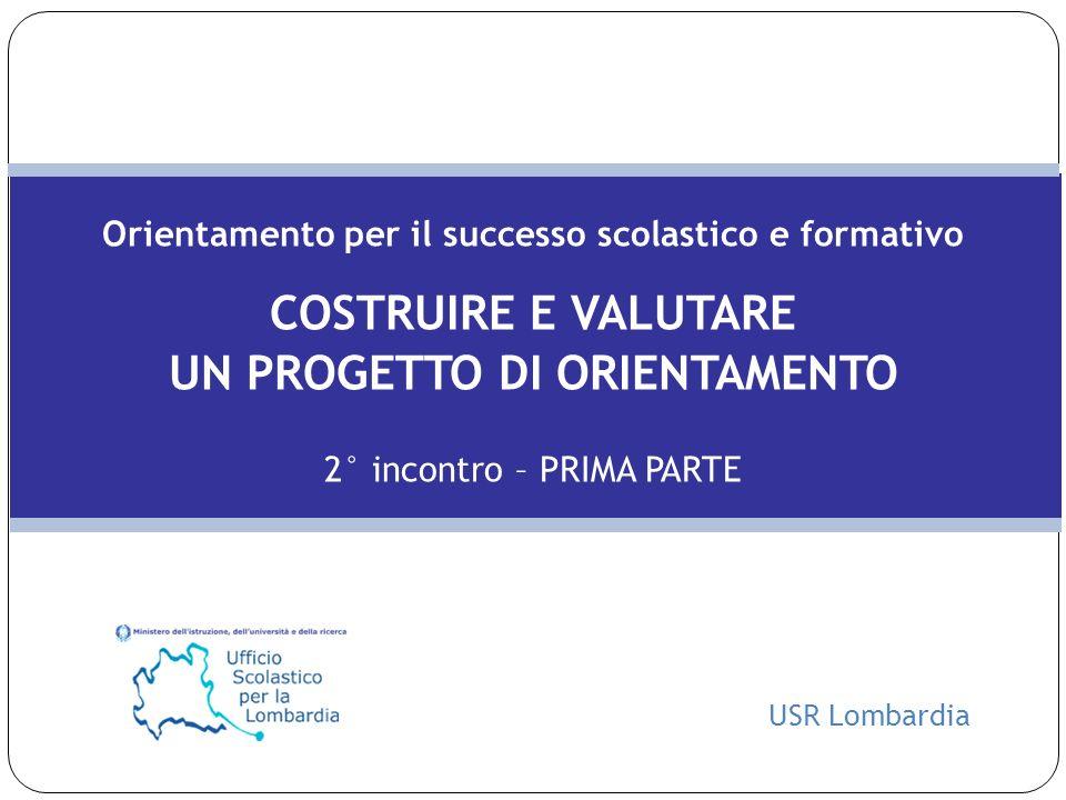 USR Lombardia 12 NOTE La scelta della scuola superiore è un processo ad alto contenuto emotivo sia per i ragazzi che per le rispettive famiglie.