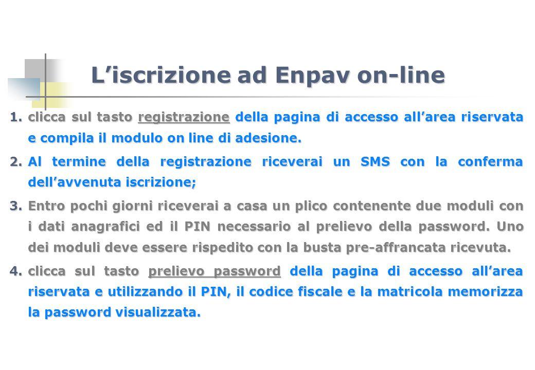 1.clicca sul tasto registrazione della pagina di accesso allarea riservata e compila il modulo on line di adesione. 2.Al termine della registrazione r