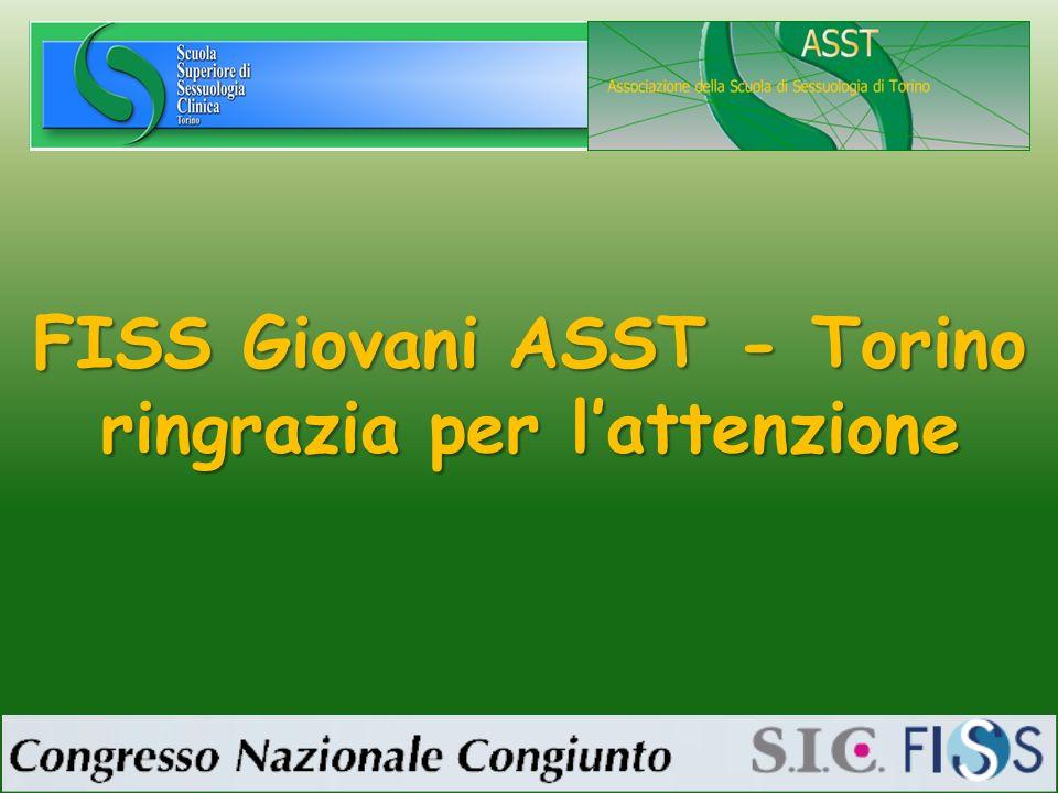 FISS Giovani ASST - Torino ringrazia per lattenzione