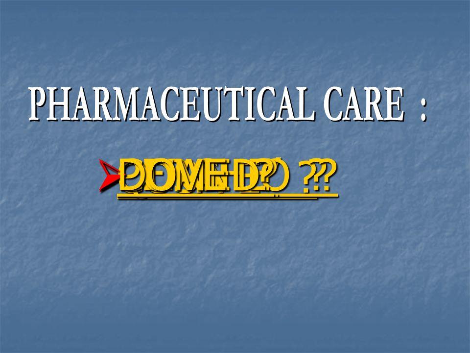 PROGETTO MINNESOTA 1998 Patologie più frequenti incontrate 1.Sinusite 2.Bronchite 3.Otite media 4.Ipertensione 5.Dolore al petto 6.Mal di gola 7.Ulcera peptica 8.Terapia sostitutiva di estrogeni 9.Rinite allergica 10.Infezioni della pelle 11.Depressione 12.Artrite International Pharmacy Journal 12, 116, 1998