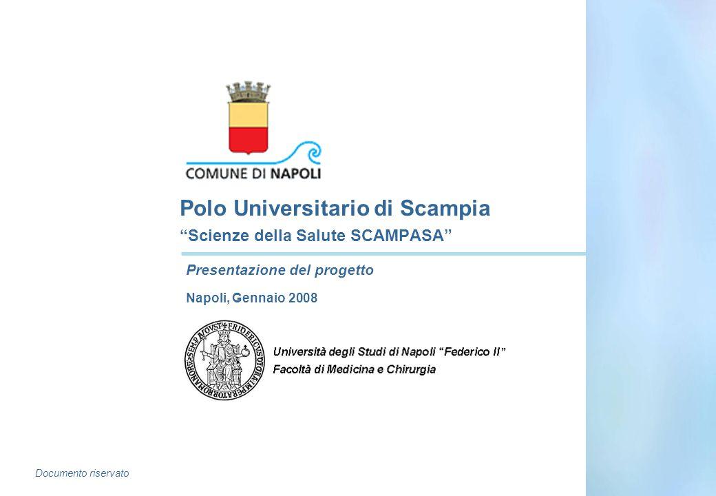 Documento riservato Napoli, Gennaio 2008 Polo Universitario di Scampia Scienze della Salute SCAMPASA Presentazione del progetto