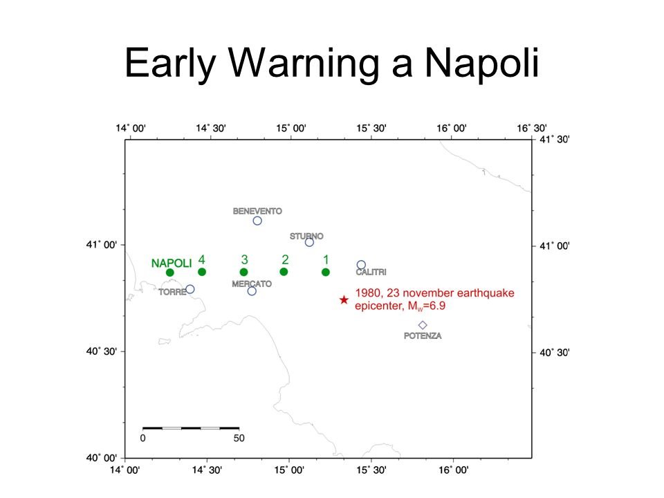 Early Warning a Napoli