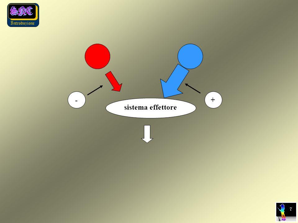 Introduzione sistema effettore 7 + -
