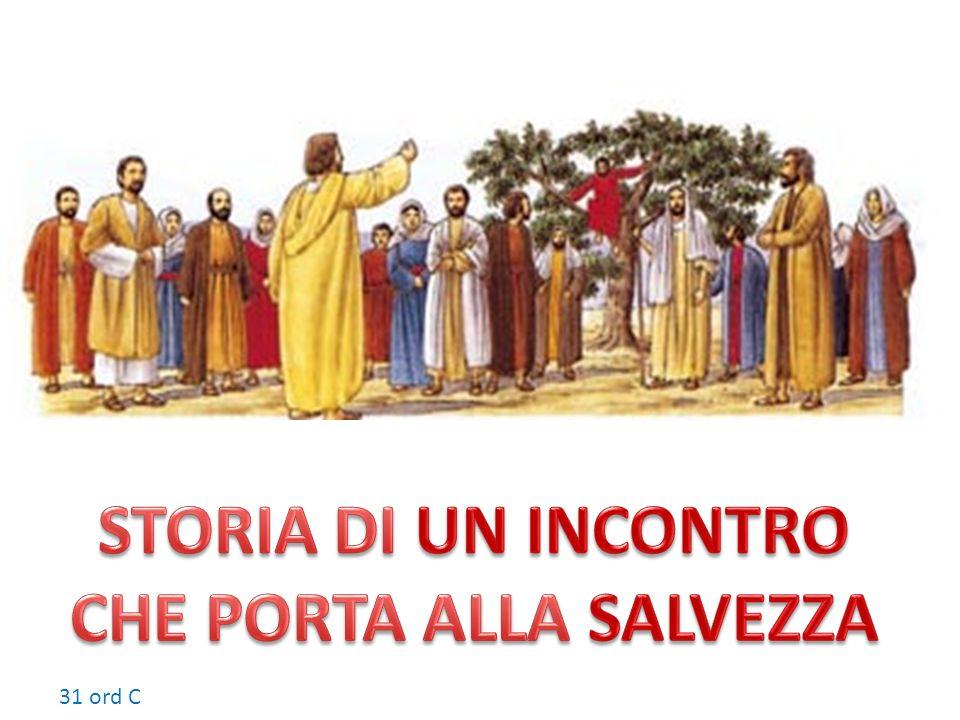 Vedendo ciò, tutti mormoravano: «È entrato in casa di un peccatore!».