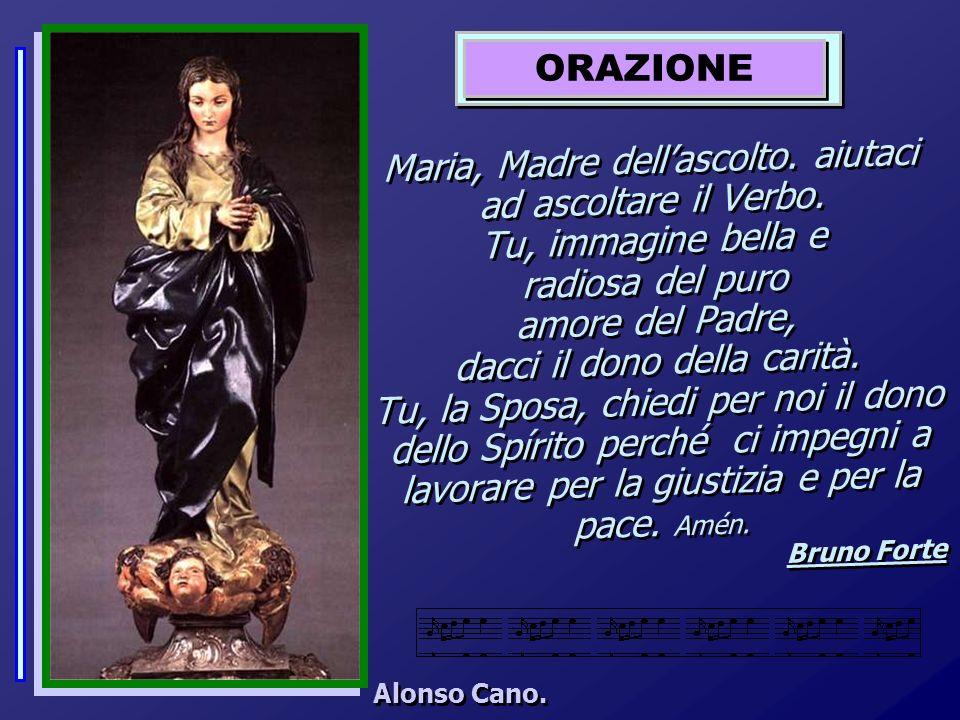 Maria, Madre dellascolto.aiutaci ad ascoltare il Verbo.