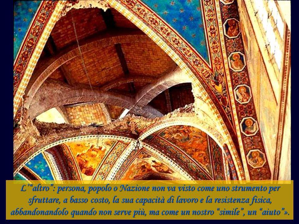La pace, afferma Giovanni Paolo II, è un bene indivisibile. O è bene di tutti o non lo è di nessuno.