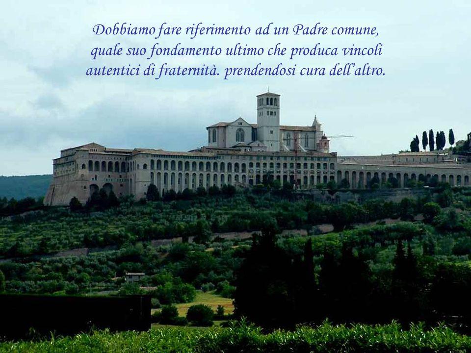 Ci dice Papa Francesco nel suo messaggio: Dobbiamo prenderci cura gli uni degli altri. No alla globalizzazione dellindifferenza che abitua alla soffer