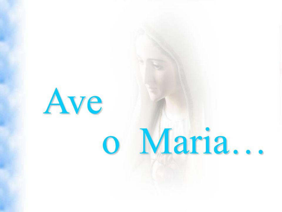 Ave o Maria…
