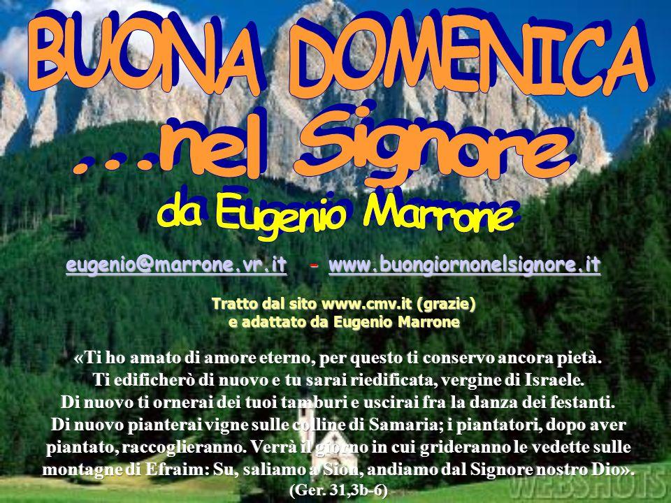 Tratto dalsito www.cmv.it (grazie) e adattato da Eugenio Marrone Tratto dal sito www.cmv.it (grazie) e adattato da Eugenio Marrone eugenio@marrone.vr.